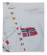 Signal Flags Fleece Blanket