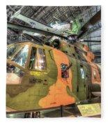 Sikorsky Hh-3 Jolly Green Giant Fleece Blanket
