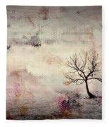 Silence To Chaos - 5502c2v Fleece Blanket