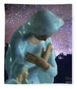 Silent Prayer Fleece Blanket