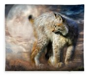 Silent Spirit Fleece Blanket