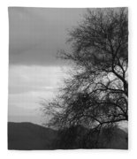 Silhouette Fleece Blanket