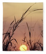 Silhouettes Fleece Blanket