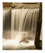 Silken Waterfall Fleece Blanket