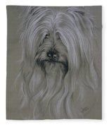 Silky Terrier Fleece Blanket