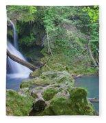 Silky Waterfall Fleece Blanket