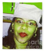 Silly Aunt Lou Fleece Blanket