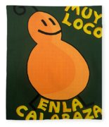 Silly Squash Fleece Blanket