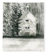 Silver City Church Fleece Blanket
