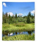 Silver Lake Fleece Blanket