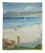 Silver Sands Fleece Blanket