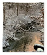 Silvered Shores Fleece Blanket