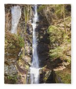 Silverthread Falls Fleece Blanket