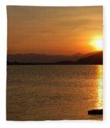 Silverwood Sunrise Fleece Blanket