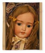 Simon And Halbig Antique Doll Fleece Blanket