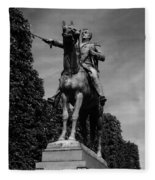 Simon Bolivar Fleece Blanket
