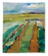 Simple Fields Fleece Blanket