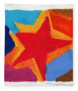 Simple Star Fleece Blanket