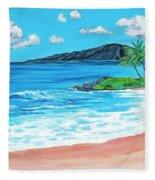 Simply Maui 18 X 24 Fleece Blanket