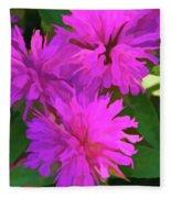 Simply Soft Pink Petals Fleece Blanket