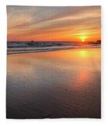 Simply Sunset Fleece Blanket