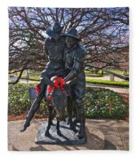 Simpson And His Donkey - Canberra - Australia Fleece Blanket