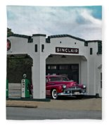 Sinclair Gasoline Fleece Blanket