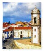 Sines Portugal Fleece Blanket