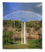 Sing Me A Rainbow Fleece Blanket