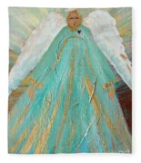 Sing Your Heart Out Angel Fleece Blanket