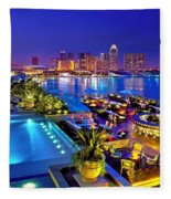 Singapore Fleece Blanket