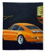 Singer Porsche Fleece Blanket