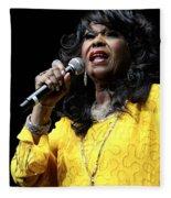 Singer Shirley Alston Reeves  Fleece Blanket