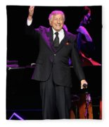 Singer Tony Bennett Fleece Blanket
