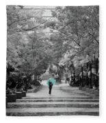 Singing In The Rain Fleece Blanket