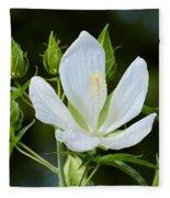 Single Bloom Fleece Blanket