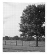 Single Tree Fleece Blanket