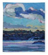 Singleton Solstice Stratocumulus Fleece Blanket