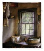 Sink - Please Wash Your Hands Fleece Blanket