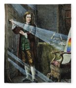 Sir Isaac Newton Fleece Blanket