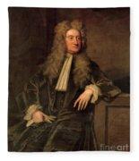 Sir Isaac Newton  Fleece Blanket