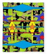 Sir Mbonu Christhe Arts Of Textile Designs #30 Fleece Blanket