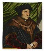 Sir Thomas More Fleece Blanket