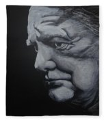 Sir Winstone Churchill Fleece Blanket