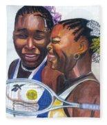 Sisters Williams Fleece Blanket