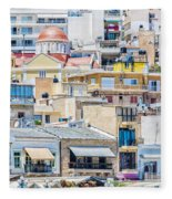 Sitia Town Fleece Blanket