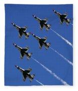 Six In Flight Fleece Blanket