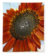 Sizzling Hot Sun Flower Fleece Blanket