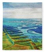 Skaftafell Floodplain Fleece Blanket