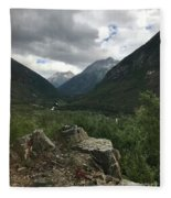 Skagway Alaska Fleece Blanket
